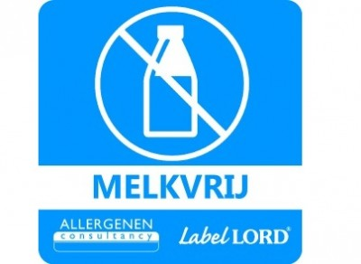 Melkvrij sticker