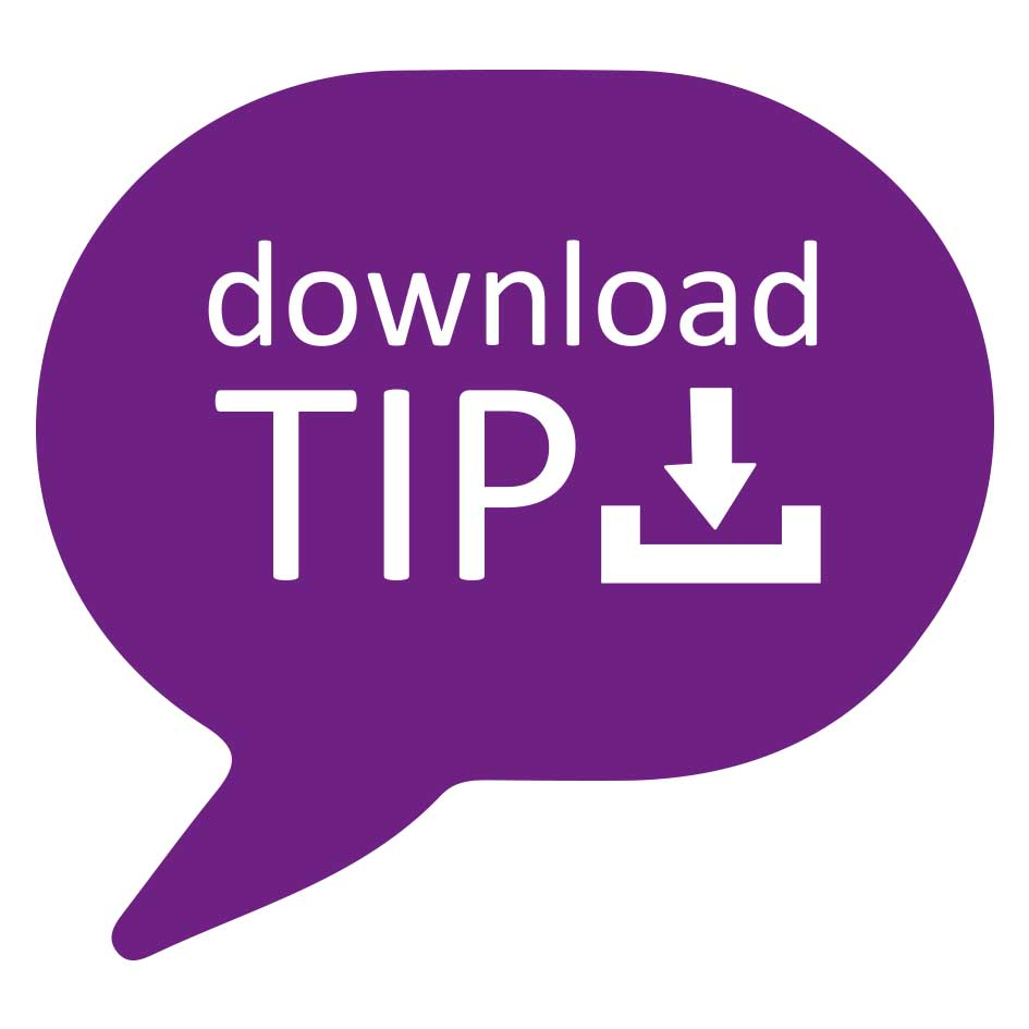 Download tip